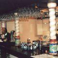 Витые гипсовые балясины для стойки бара